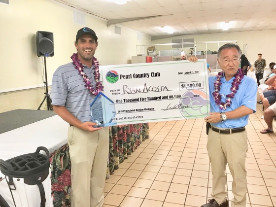 Ryan Acosta Pearl Invitaional 2018 Winner Golf Hawaii